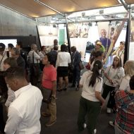 The Angolan exhibition at the World Urban Forum in Medellin, Colombia