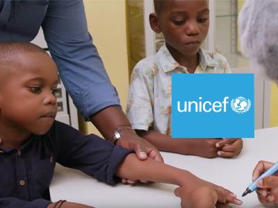 Unicef – Vacinação Poliomielite